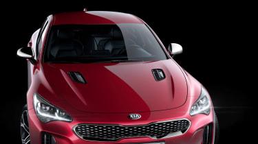 Kia Stinger GT press - static front