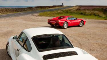 Ferrari 288 GTO v Porsche 959