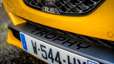 Renault Megane RS300 detail