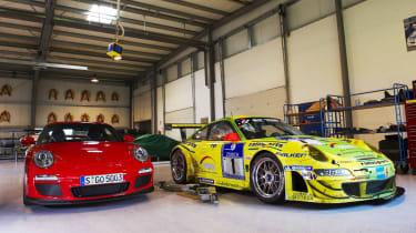 Porsche 911 GT3 with Ring counterpart, RSR