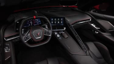 2020 Chevrolet Corvette C8 interior 2