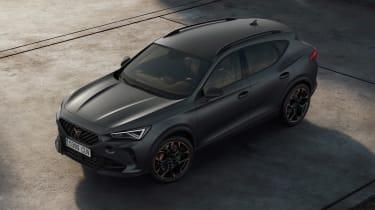 Cupra Formentor VZ5 revealed grey top