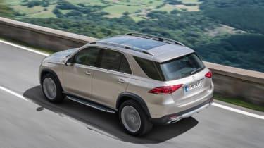 new Mercedes-Benz GLE - rear quarter