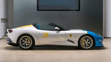 Ferrari SP3JC side