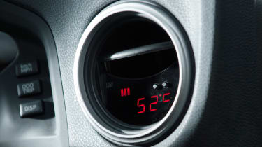 Toyota GT86 by Abbey Motorsport temperature gauge