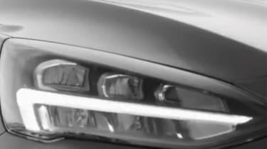 Ford focus teaser 2018 - headlighst