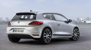 New VW Scirocco silver