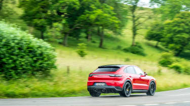 Porsche Cayenne Coupe GTS – rear