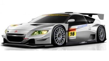 Honda CR-Z GT300 racing car