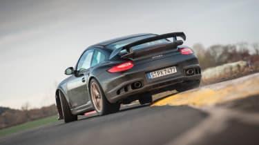 Porsche 911 GT2 RS on track