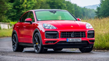 Porsche Cayenne Coupe GTS – front cornering