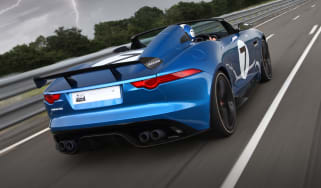Jaguar F-type Project 7 speedster