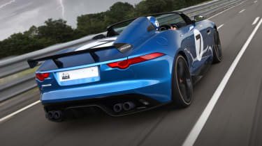 Jaguar F-type Project 7 speedster