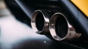 Ford Mustang Shelby GT350R - Exhaust