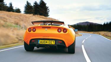Lotus Exige S2 rear cornering