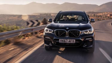 New BMW X3 diesel review - 20d and 30d SUV duo driven | Evo