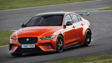 Jaguar XE SV Project 8  corner