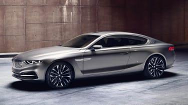 BMW Gran Lusso Coupe side profile sculptured door