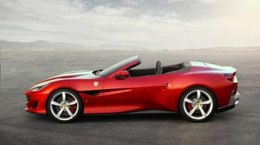 Ferrari Portofino - profile