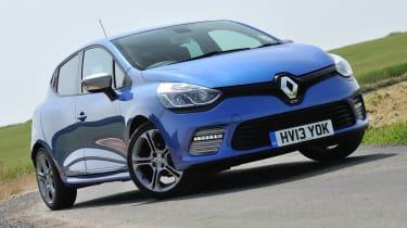 Renault Clio GT Line Malta Blue front