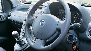 Fiat Panda 100HP interior