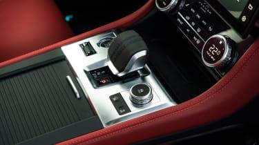 Jaguar F Pace 2021 review - P400 console