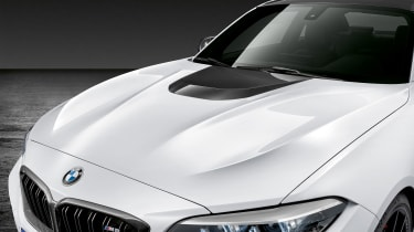 BMW M2 Competition M performance Parts – bonnet