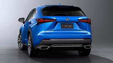 Lexus NX300 - studio F Sport rear