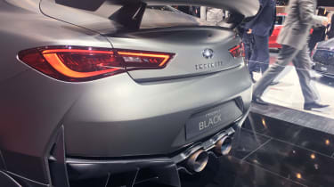 Infiniti Q60 Project Black S - Exhaust