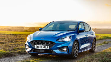 Ford Focus ST-Line - front quarter
