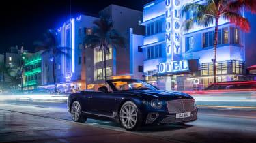 Bentley Continental GT Convertible V8 - night