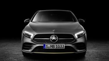 Mercedes-Benz A-class front studio