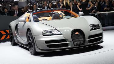 Geneva Motor Show 2012: Bugatti Veyron Grand Sport Vitesse