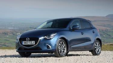 2017 Mazda 2 - front blue