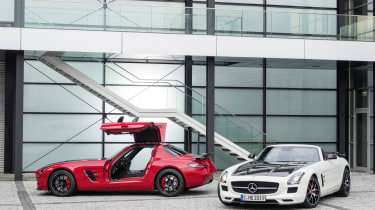 Mercedes SLS AMG GT Final Edition Roadster and Coupe