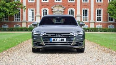 Audi A8 UK - front