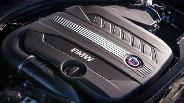Alpina D3 Biturbo engine