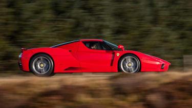 Ferrari Enzo side