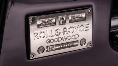 Rolls-Royce Phantom - plate