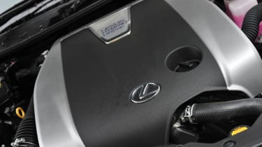 2012 Lexus GS450h F Sport V6 petrol engine