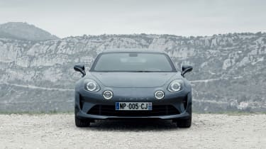 Alpine A110 Pure and Legende - front
