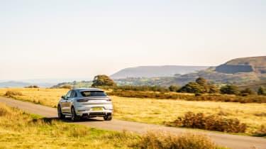 Porsche Cayenne Turbo S e-hybrid – rear