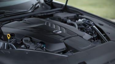 Lexus LC500 MY21 - engine bay