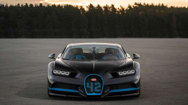 Bugatti Chiron '42' record breaker - front static