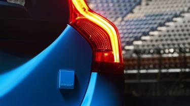 Volvo V60 Polestar badge rear light