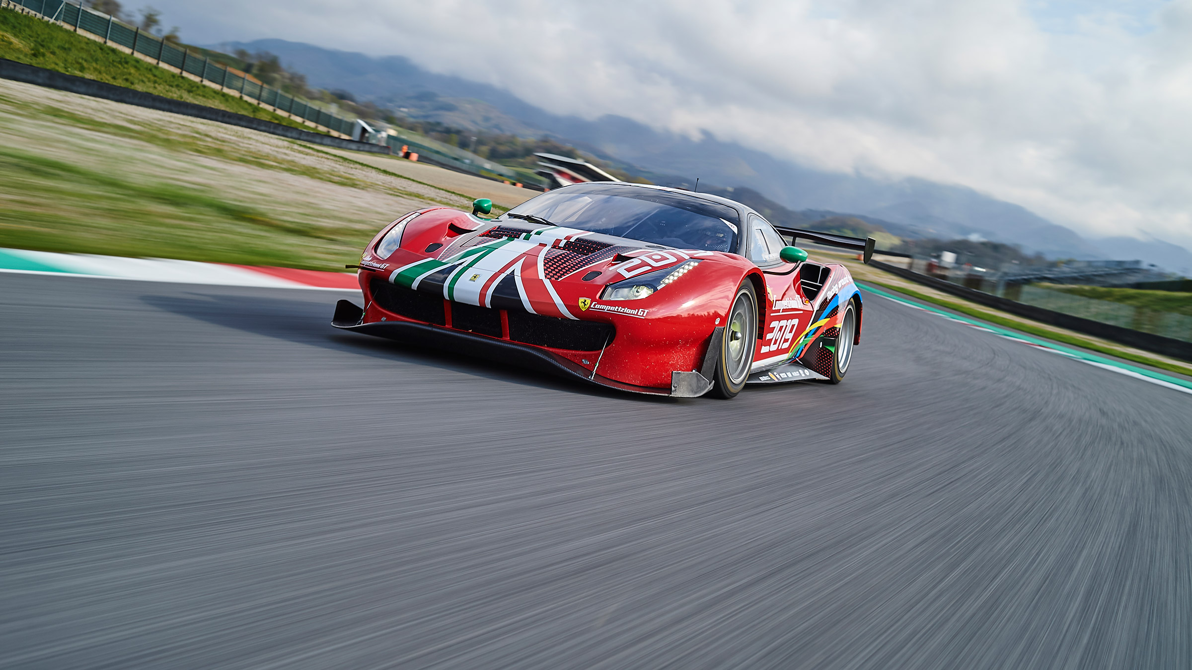 Driving a Ferrari 488 GT3 - Richard Meaden drives the racer that inspires the road cars | evo