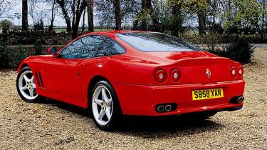 Ferrari 550 rear