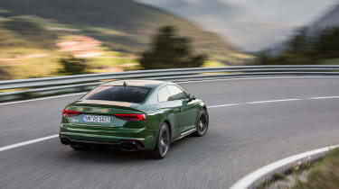 Audi RS5 - rear cornering