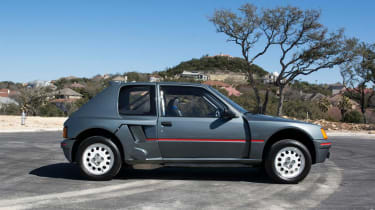 Peugeot 205 T16 PTS Clubman – side