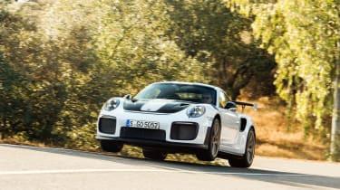 Porsche 911 GT2 RS jump